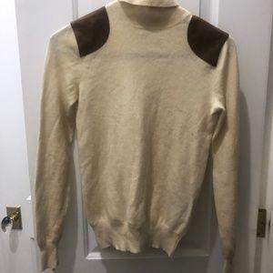 Ralph Lauren cream sweater sz small 100% cashmere